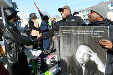 The annual march marking Martin Luther King Jr. Day in Bridgeport, Conn. Jan. 16, 2017.