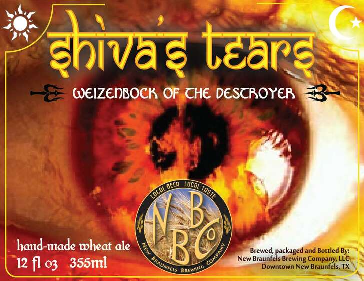 The label of the New Braunfels Brewing Co. beer called Shiva's Tears, which has come under fire from an Hindu activist over its use of the Hindu deity's name.