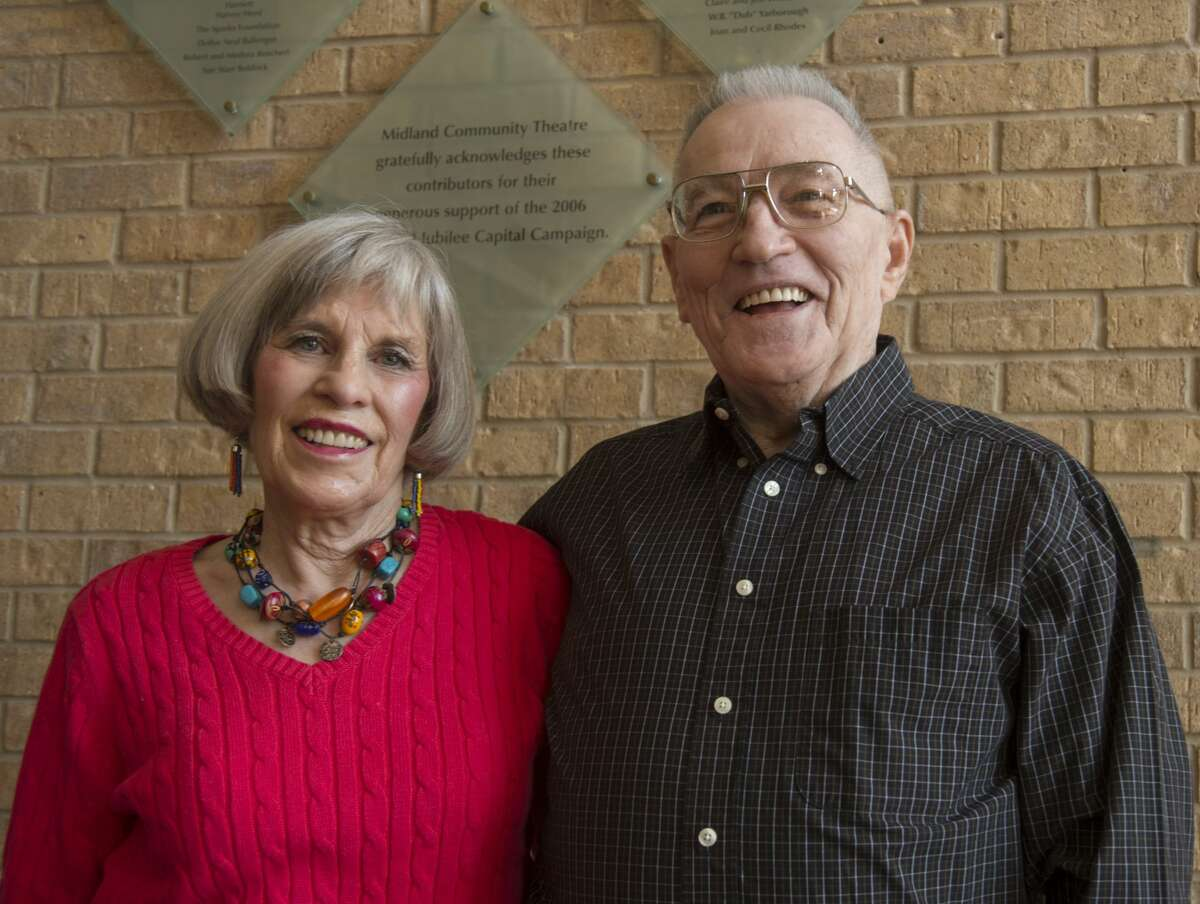 Joe and Ann Hathaway, long time MCT and Summer Mummers volunteers, are some of our 52 Faces of Our Community. Thursday 01-12-17 Tim Fischer/Reporter-Telegram