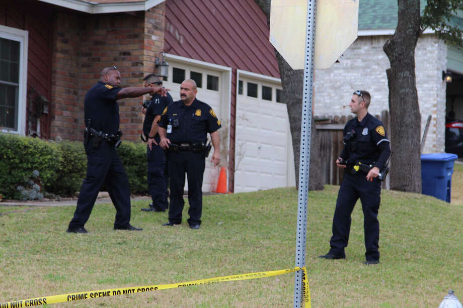 A homeowner on the Northwest Side was shot Jan. 16, 2017, by two suspects following a car break-in in the 5500 block of Timber Hawk. Editor's note: The house number in this image had been altered to help protect the identity of the victim. Photo: Tyler White, San Antonio Express-News