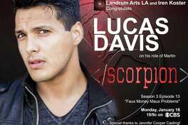 Lucas Davis guest-stars on CBS hit drama 'Scorpion.'