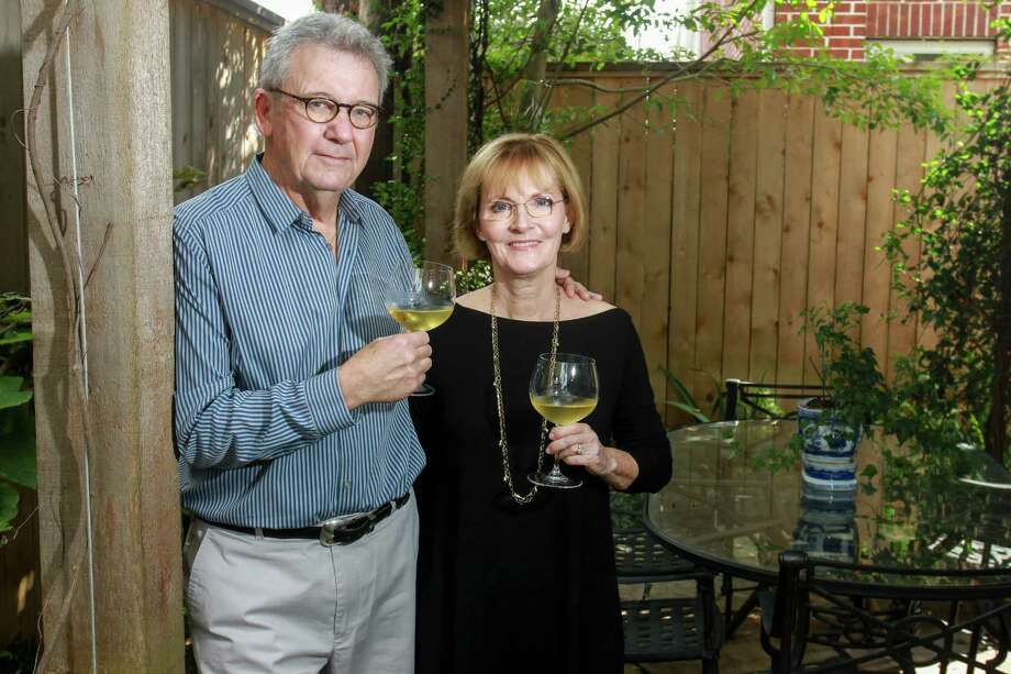 Terry and Pam Davis have earned praise for their Frisson wines. Photo: Gary Fountain, For The Chronicle / Copyright 2016 Gary Fountain