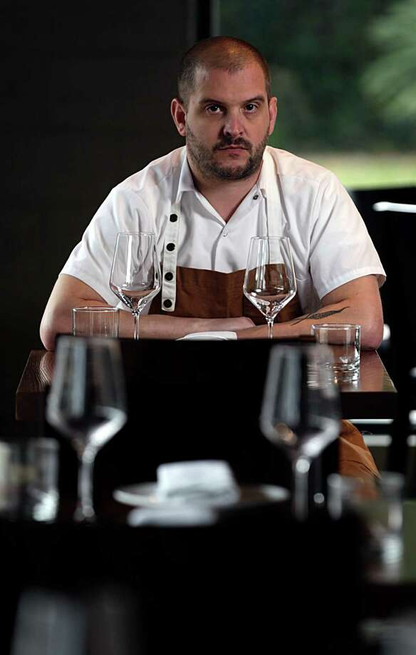 Riel restaurant chef/owner Ryan Lachaine is one of the Houston chefs participating in Indie Chefs Week, Jan. 5-7. Photo: James Nielsen, Staff / © 2016  Houston Chronicle