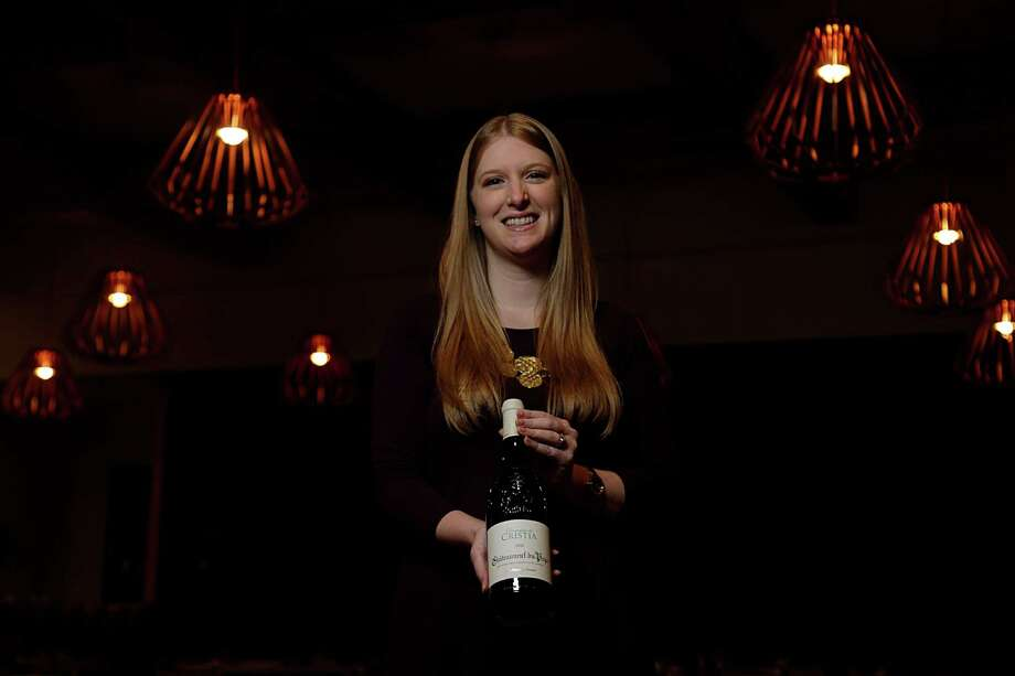 SaltAir Seafood Kitchen sommelier Wendi Lambert recommends the 2013 Domaine de Cristia Châteauneuf-du-Pape Blanc. Photo: James Nielsen, Staff / © 2017  Houston Chronicle