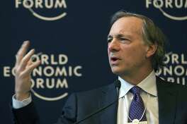 Bridgewater Associates founder and Greenwich, Conn. resident Ray Dalio speaks in 2012 at the World Economic Forum in Davos, Switzerland. (AP Photo/Anja Niedringhaus, File)