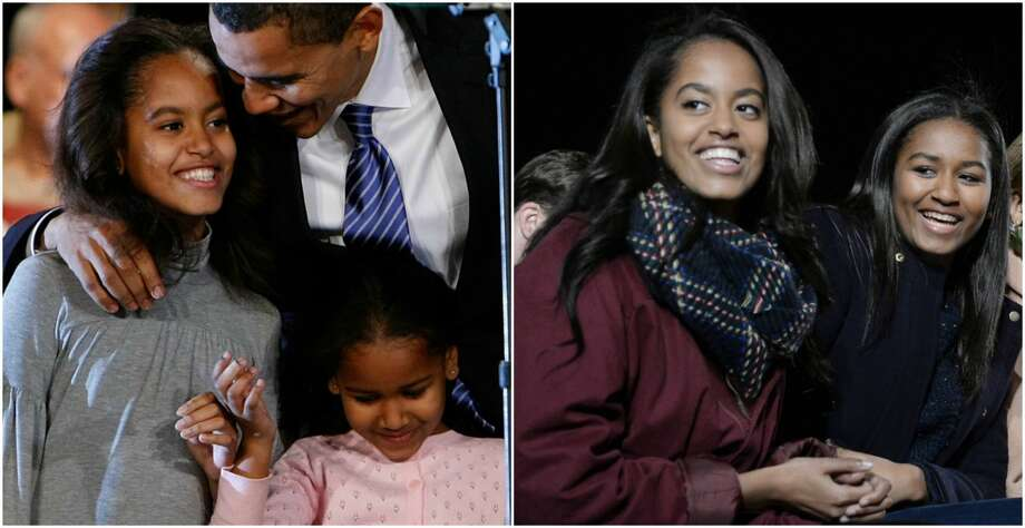 >> See the Obama girls grow up in this collection of photos from the last decade.  Photo: Getty Images