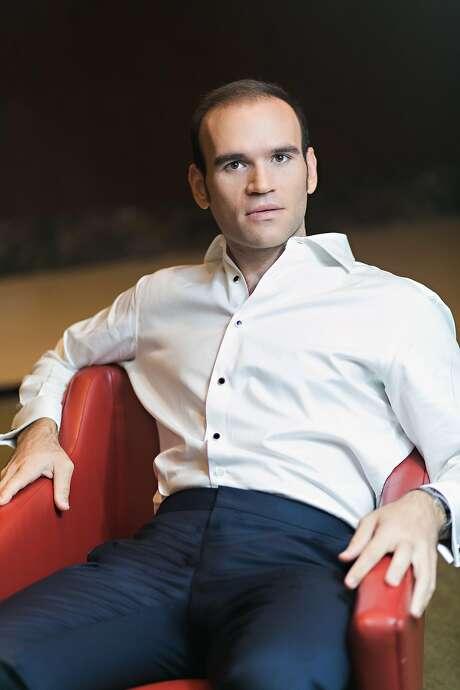 """Tenor Michael Fabiano will have the male lead in """"Manon."""" Photo: Courtesy SF Opera"""