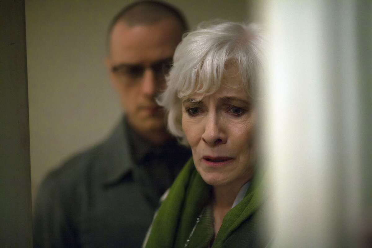This image released by Universal Pictures shows James McAvoy, left, and Betty Buckley in a scene from,