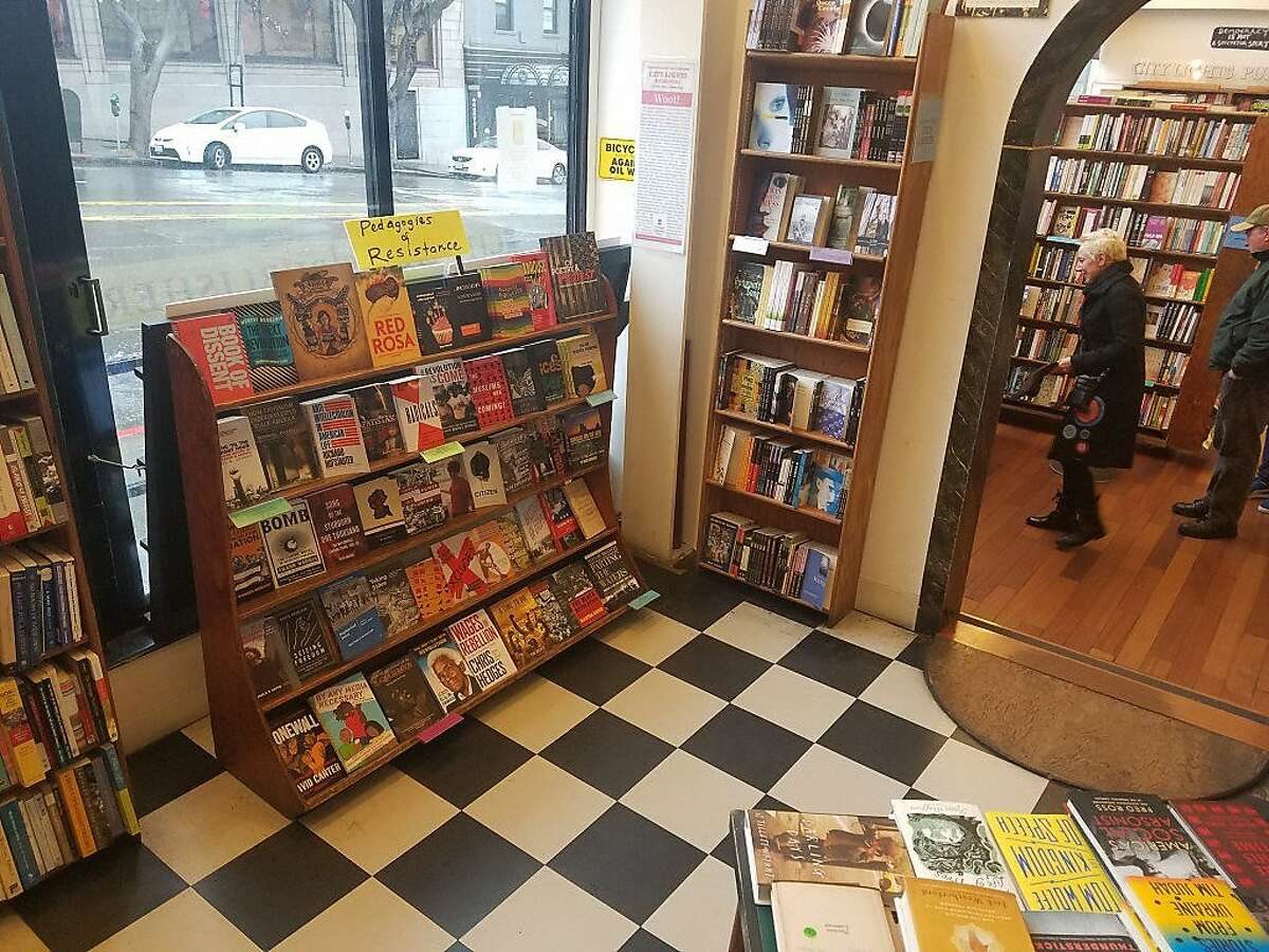 Pedagogies of Resistance, a new section at City Lights Bookstore.