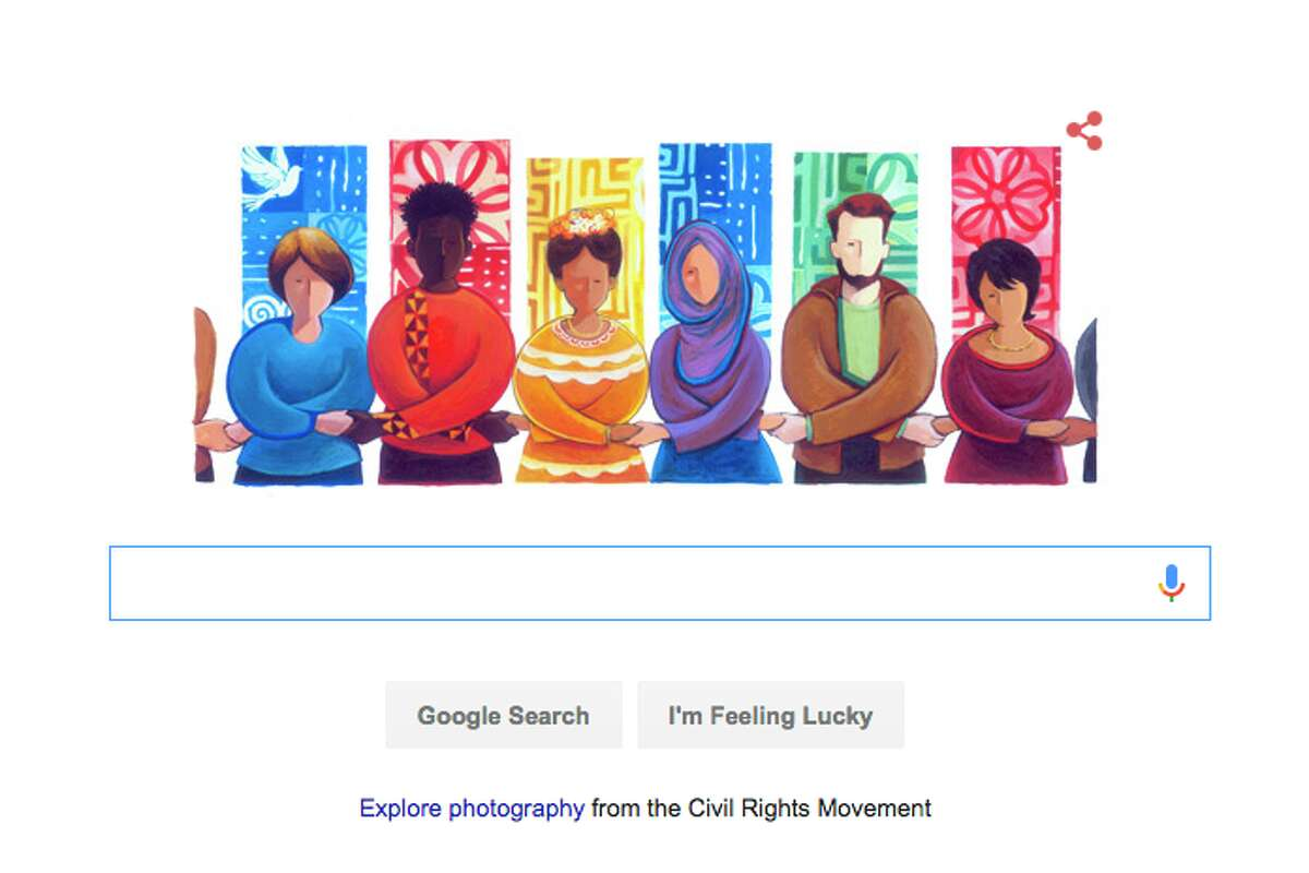 Google also paid tribute to Martin Luther King, Jr.