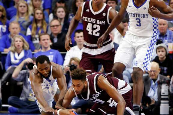 Texas A&M has had difficulty handling the ball cleanly, including Tonny Trocha-Morelos at Kentucky in one of three SEC games in which the Aggies committed 22 or more turnovers.