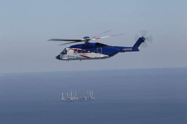 The Sikorsky S-92 is used extensively as a crew and cargo transport servicing oil rigs.(Photo via PRNewswire)