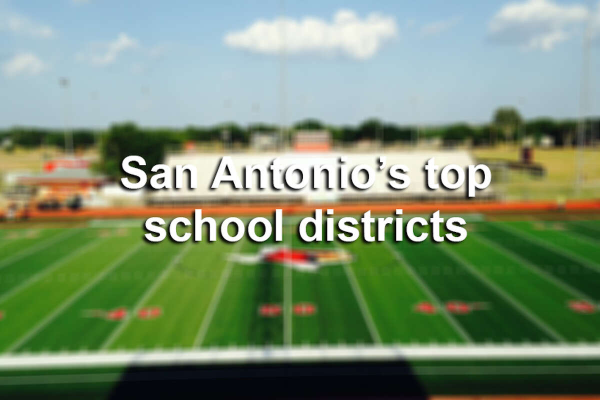 Here are the top school districts in the San Antonio area for 2017, according to Niche.