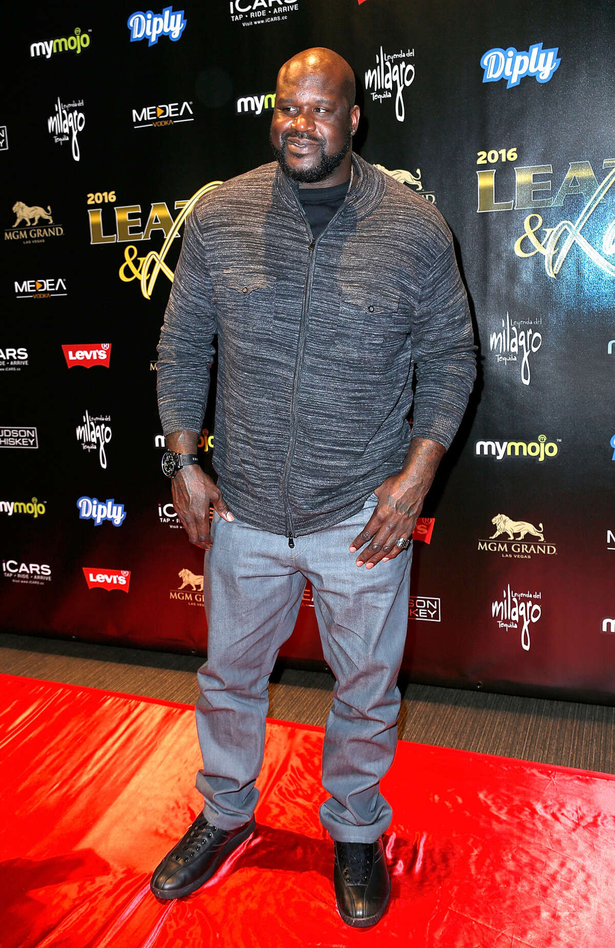 Shaquille O'Neal arrives to the 13th annual