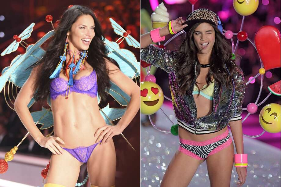 """PHOTOS: Hottest scenes from past """"Leather & Laces"""" Super Bowl partiesVictoria's Secret Angels Adriana Lima, left, and Sara Sampaio, right, will co-host the second night of the """"Leather & Laces"""" party for Super Bowl LI in Houston, Texas on Saturday, Feb. 4, 2017.See who else has been spotted at past """"Leather & Laces"""" parties ... Photo: CBS Via Getty Images"""