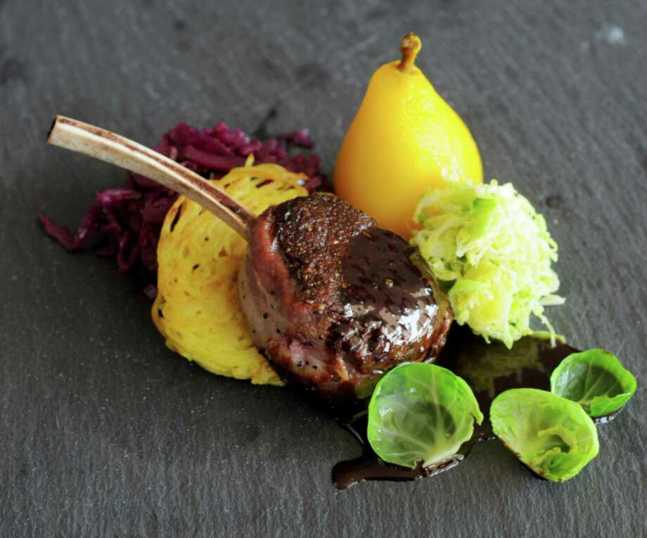 Venison chop at Brasserie 1895 in Friendswood Photo: Dave Rossman, Freelance / Dave Rossman