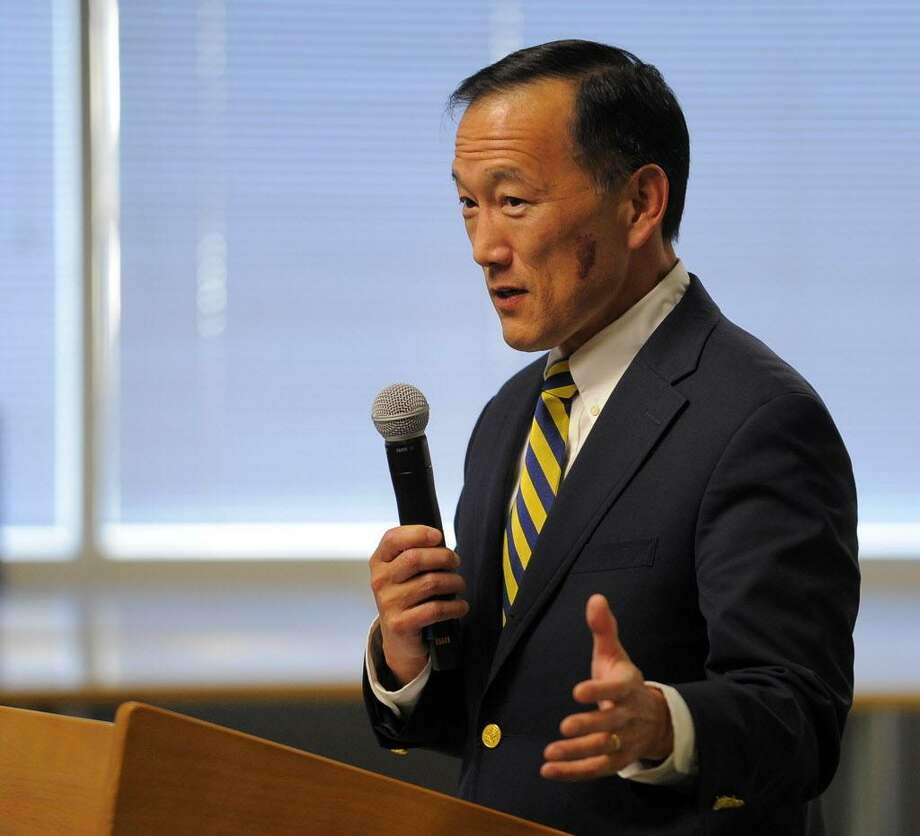 FILE — Superintendent of Schools Earl Kim on March 22, 2016. Photo: Matthew Brown / Hearst Connecticut Media / Stamford Advocate