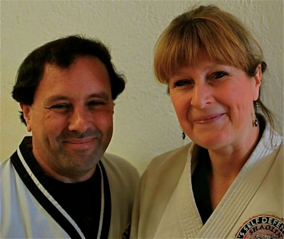 Jerry and Nancy Simon are the owners of Villari Self Defense at 63 Unquowa Road, Fairfield. They have been in business together for 30 years. Photo: Contributed Photo, Jim Downey For The Fairfield Citizen / Fairfield Citizen