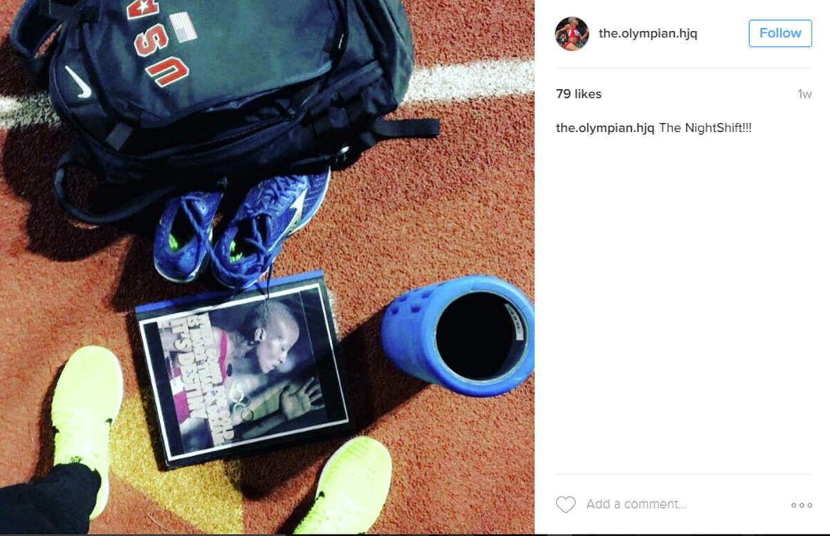 Port Arthur native and high jumper Inika McPherson documents her experiences since the Rio 2016 Olympics on social media. See more on her Instagram account, @the.olympian.hjq.