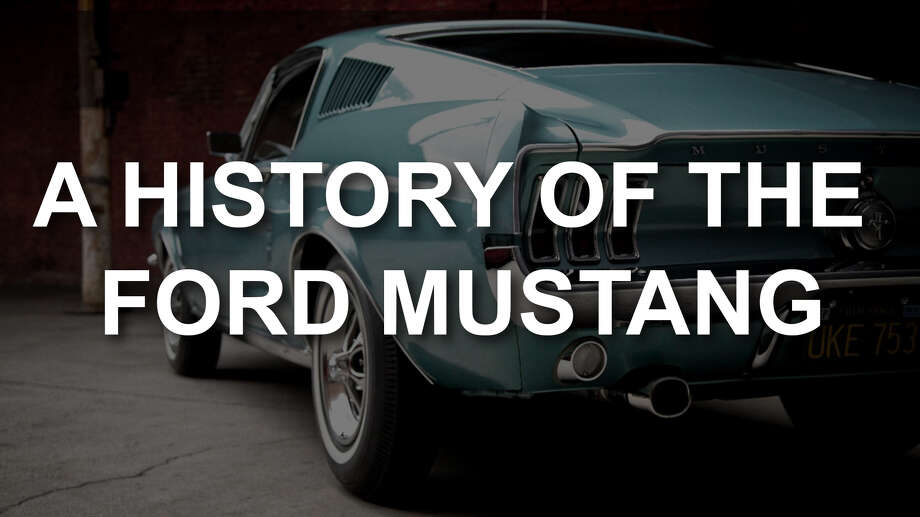 A visual history of the Ford Mustang. Photo: Ford Motor Company