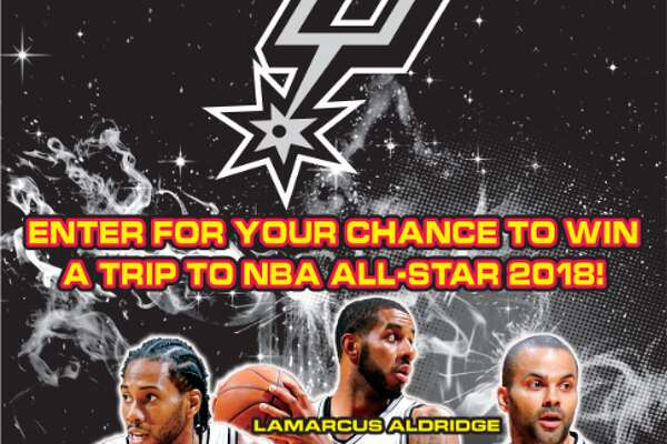 The Texas Lottery has partnered with the San Antonio Spurs to bring basketball fans a new $5 scratch ticket that offers more than $10.2 million in total prizes, three top prizes of $100,000 and a chance to win a trip for two to NBA All-Star 2018. The scratch ticket is available now at licensed Texas Lottery® retail locations.