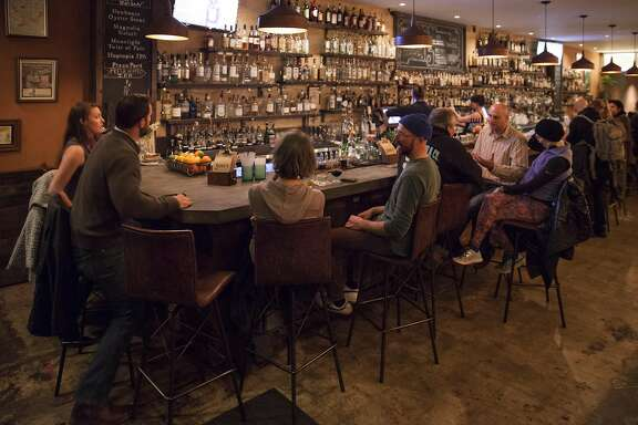 Duke's bar, Sunday January, 15 2017 in Healdsburg, CA. (Peter DaSilva Special to the Chronicle)