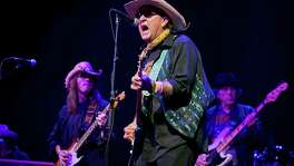 Joe King Carrasco performs at the Doug Sahm tribute at South by Southwest in 2015. He was at the Austin music festival a year later when he learned his brother Tucker had died.