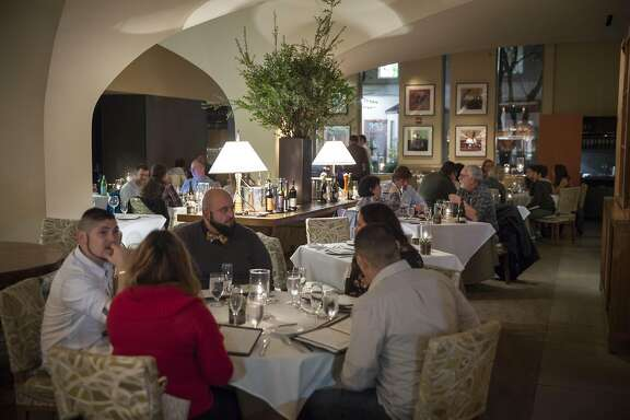 Dry Creek Kitchen main dinning room, Saturday January, 07 2017 in Healdsburg, CA. (Peter DaSilva Special to the Chronicle)