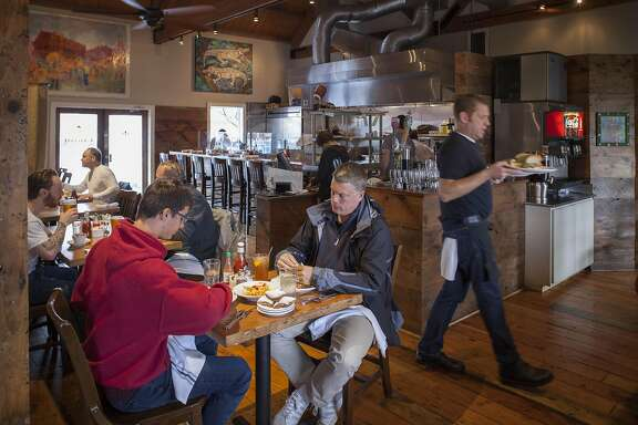 Parish Cafe, Saturday January, 07 2017 in Healdsburg, CA. (Peter DaSilva Special to the Chronicle)