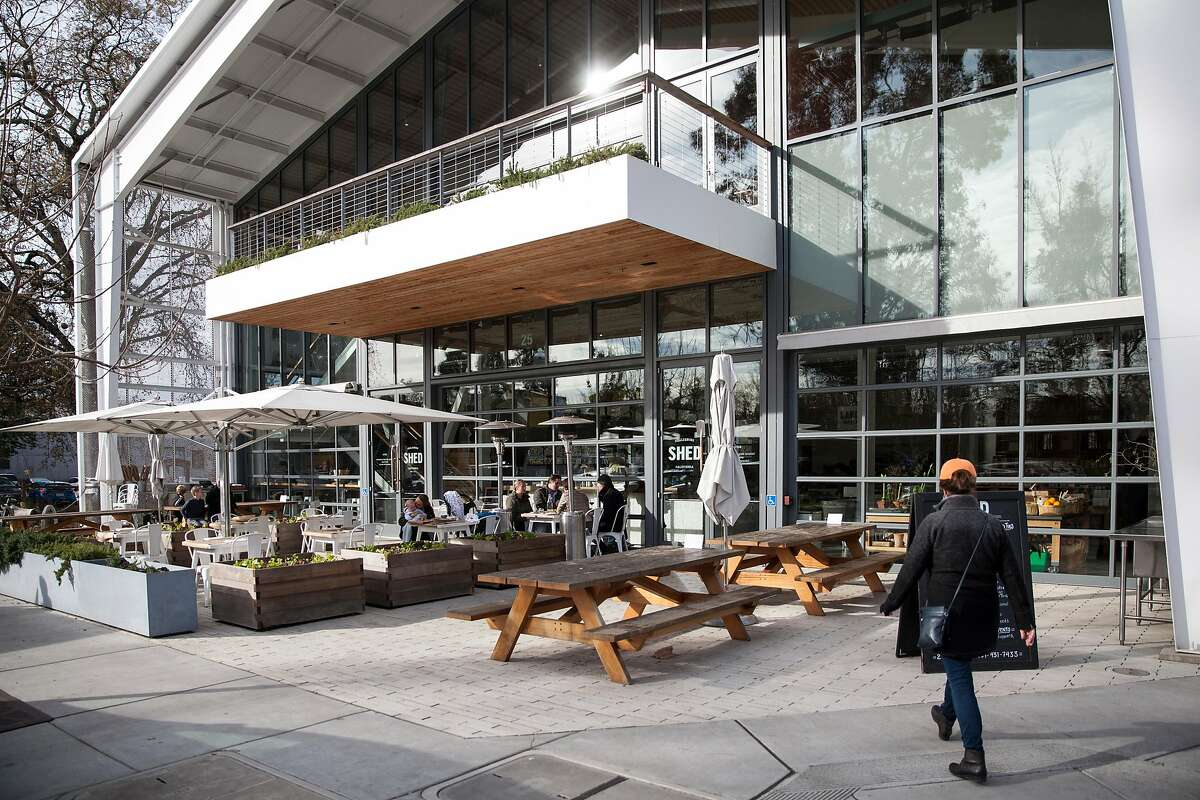 Out door patio at Shed, Friday January, 06 2017 in Healdsburg, CA. (Peter DaSilva Special to the Chronicle)