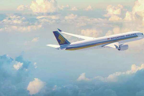 Singapore Airlines now uses an Airbus A350 for its service from Houston to Manchester and Singapore.