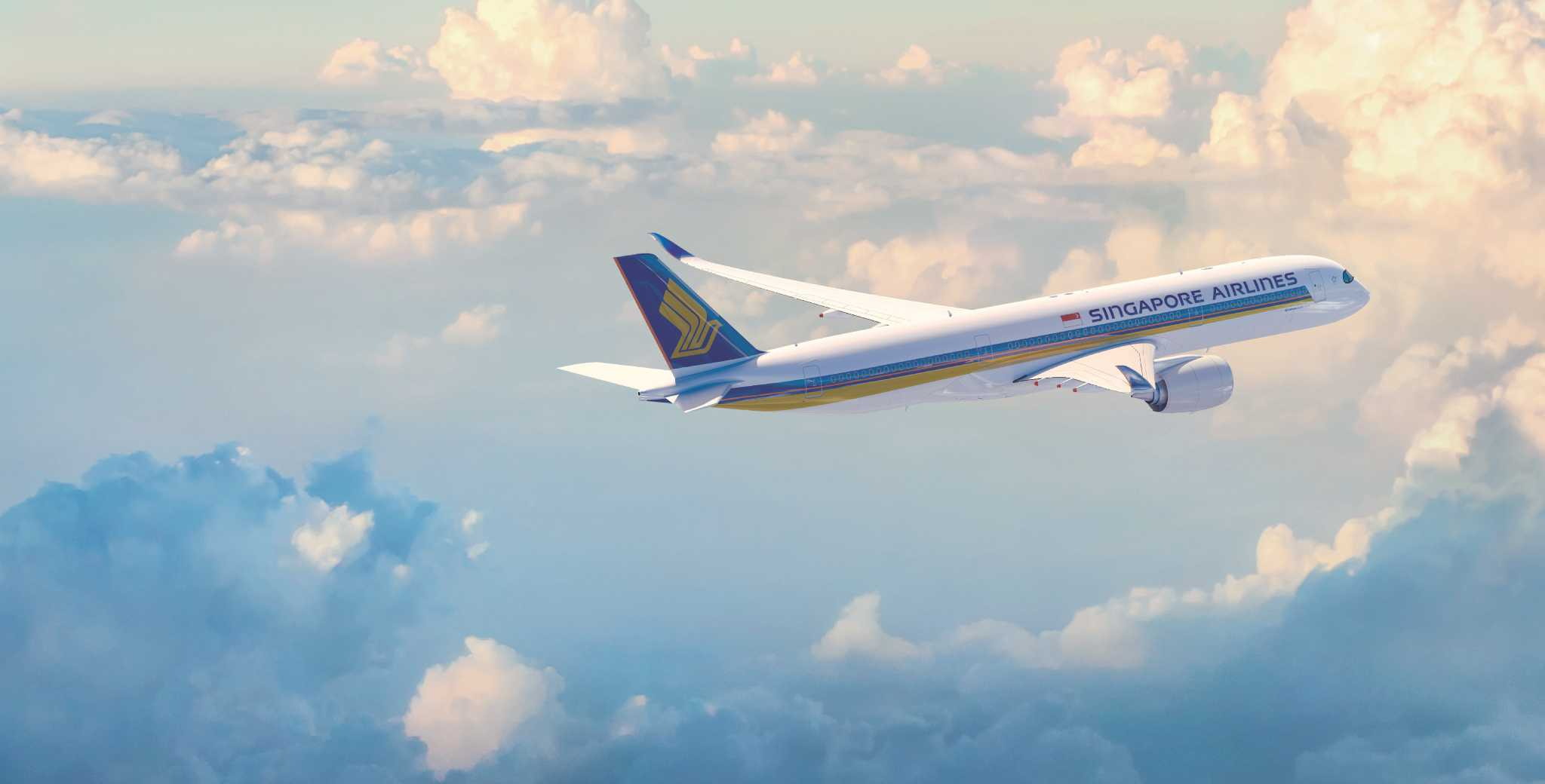 Singapore Airlines launches Houston\'s first A350 aircraft - Houston ...