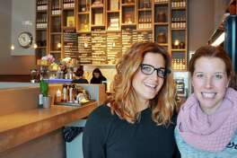Julie Gaines and Dana Noorily, co-owners of The Granola Bar in Westport and Greenwich, Conn.