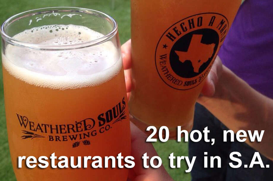 Keep clicking to see what new restaurants are creating a buzz in San Antonio20. Weathered Souls Brewing Co. - 4.5 stars606 Embassy Oaks Ste 500Price: $$ Photo: File
