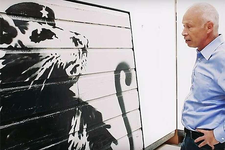 """""""Saving Banksy"""" examines the path of graffiti from scrawls to valued street art. Photo: Courtesy """"Saving Banksy"""", Roxie Theater"""