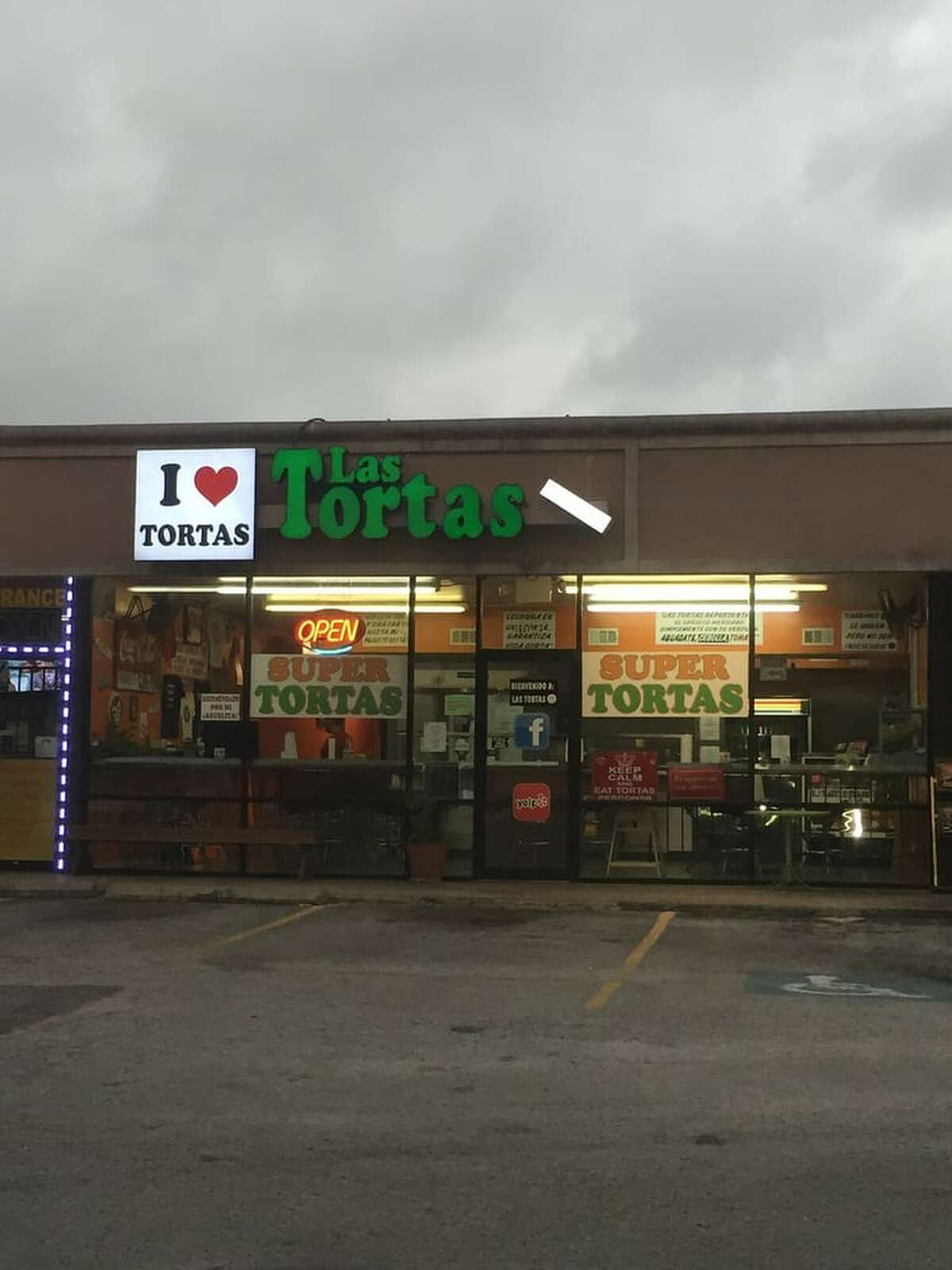 Place name: Las Tortas PerronasYelp ranking: 89Location: Photo: Joshua L. /Yelp