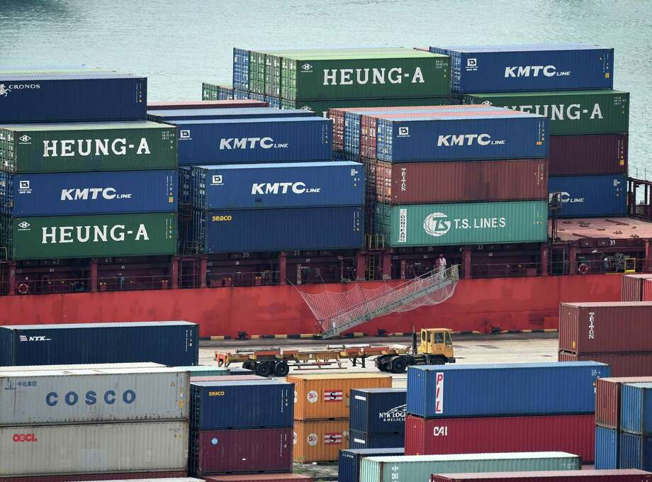 "The U.N. report noted that world trade volume expanded by just 1.2 percent in 2016, ""the third-lowest rate in the past 30 years."" Photo: Roslan Rahman /AFP /Getty Images / AFP or licensors"