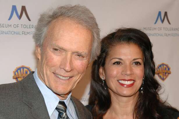 Clint Eastwood and Dina Ruiz attend the Museum of Tolerance International Film Festival Tribute Gala at Museum Of Tolerance on November 14, 2010 in Los Angeles, California.
