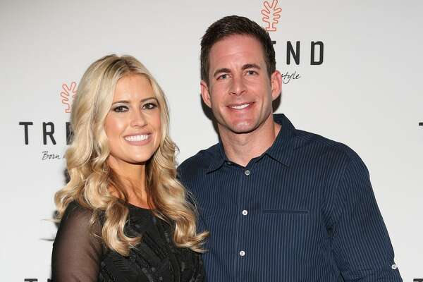 "MIAMI BEACH, FL - MARCH 12:  Christina El Moussa and Tarek El Moussa of HGTV's ""Flip or Flop"", new North American brand ambassadors, attend the TREND Group and Granite Transformations global rebranding and ""Immense"" product collection launch event at Temple House on March 12, 2016 in Miami Beach, Florida.  (Photo by Alexander Tamargo/Getty Images)"