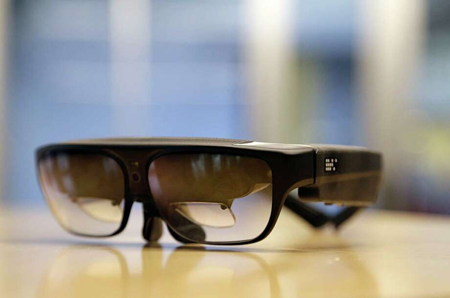 A pair of glasses to assist the visually impaired from the AT&T Foundry in the Texas Medical Center Jan. 6, 2017, in Houston. ( James Nielsen / Houston Chronicle ) Photo: James Nielsen, Staff / © 2017  Houston Chronicle