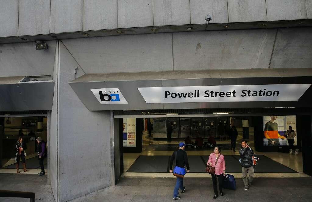 FILE BARTu0027s Powell Street station in San
