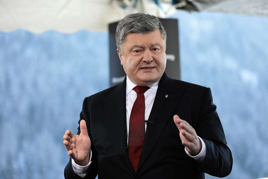 Ukraine President Petro Poroshenko has appealed to the International Court of Justice at The Hague. Photo: Simon Dawson, Bloomberg