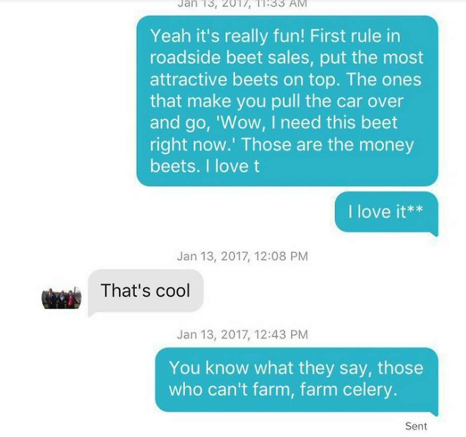 You Know What They Say Quotes Girl Uses 'office' Quotes On Tinder Convinces Boy She's A Beet