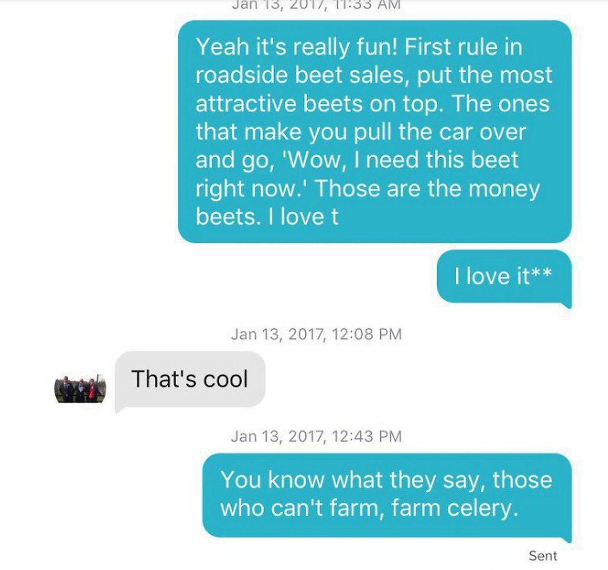 Girl Uses Office Quotes On Tinder Convinces Boy Shes A Beet