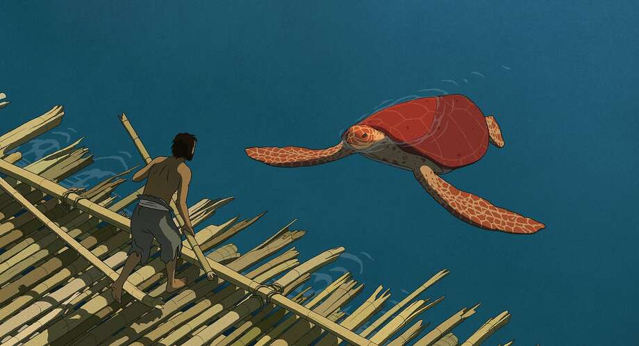 """Still from animated feature """"The Red Turtle,"""" written and directed by Michael Dudok de Wit Photo: Sony Classics"""