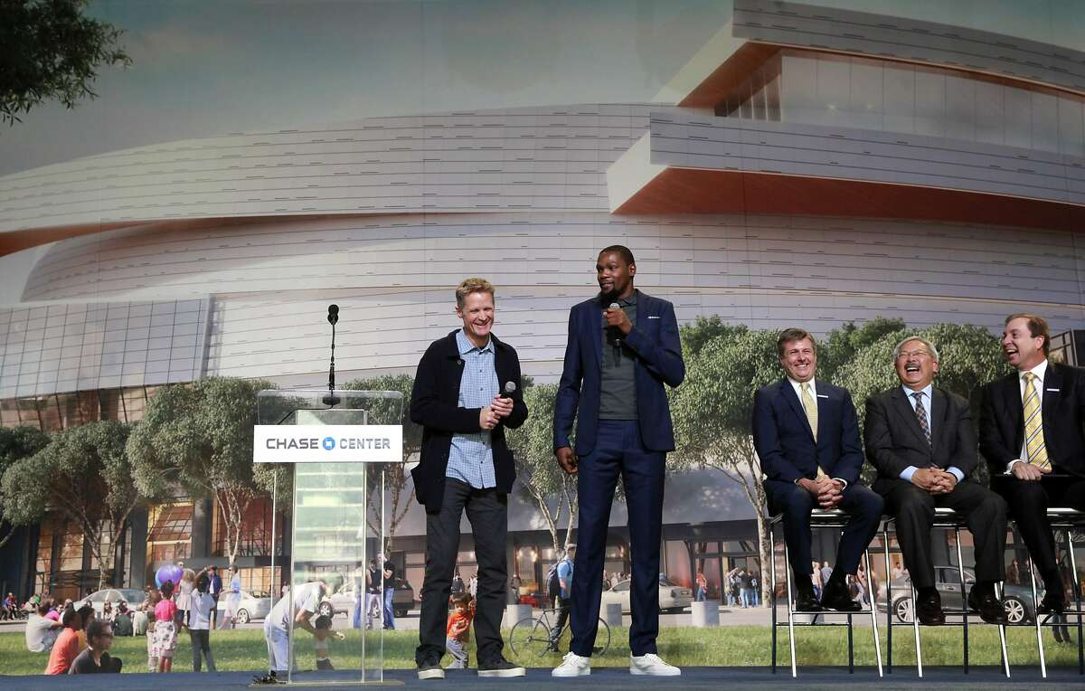 Your San Francisco Warriors! Beat the crowds by a few years and check out the construction site for the forthcoming Chase Center, aka the Splash Brothers' new arena. FIND IT: The intersection of Third Street and South Street in Mission Bay.
