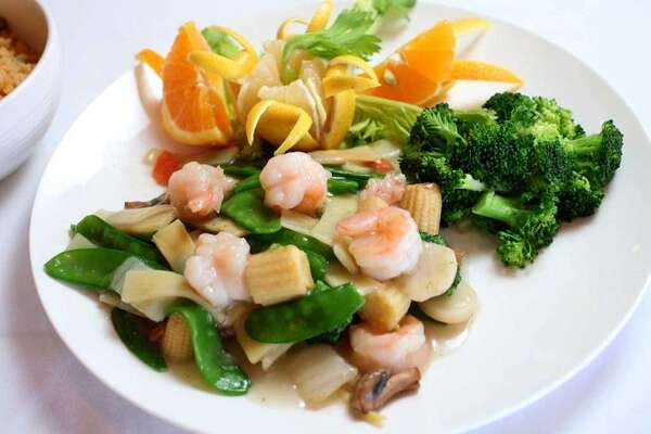 Shrimp with vegetables. Photo provided by House of Joy Chinese Cuisine