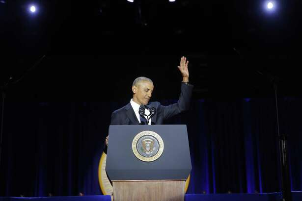 President Barack Obama waves to the crowd following his farewell address at McCormick Place in Chicago. A reader says it is time to consider the president's legacy.