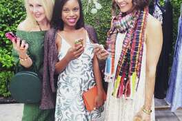 In good company with snap queens Carrie Colbert of Wear+Where+Well and Sheree Frede of SheShe Show.