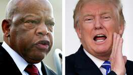 Rep. John Lewis of Georgia, a civil rights icon, said Donald Trump will be an illegitimate president. Trump fired back in tweets that Lewis has done nothing for his district. The controversy is whether Trump was wrong to counter-attack a person who risked his life for civil rights.